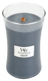Aromatická svíčka váza, WoodWick Evening Onyx, hoření až 120 hod