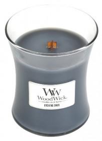 Aromatická svíčka váza, WoodWick Evening Onyx, hoření až 65 hod
