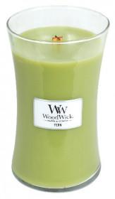 Aromatická svíčka váza, WoodWick Fern, hoření až 120 hod