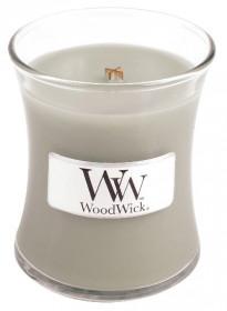 Aromatická svíčka váza, WoodWick Fireside, hoření až 30 hod