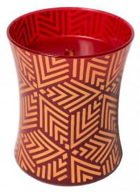 Aromatická svíčka váza, WoodWick Holiday Crimson Berries, hoření až 65 hod
