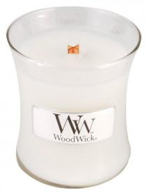 Aromatická svíčka váza, WoodWick Island Coconut, hoření až 30 hod