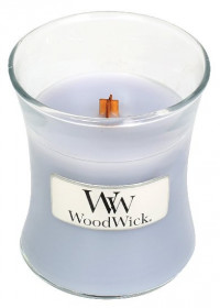 Aromatická svíčka váza, WoodWick Lilac, hoření až 30 hod