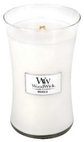 Aromatická svíčka váza, WoodWick Magnolia, hoření až 120 hod