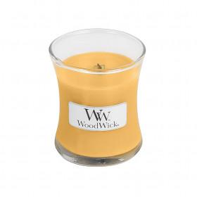 Aromatická svíčka váza, WoodWick Oat Flower, hoření až 30 hod