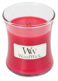Aromatická svíčka váza, WoodWick Radish and Rhubarb, hoření až 30 hod