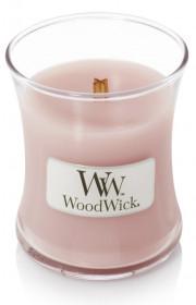 Aromatická svíčka váza, WoodWick Rosewood, hoření až 30 hod