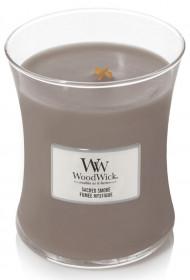 Aromatická svíčka váza, WoodWick Sacred Smoke, hoření až 65 hod