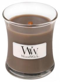 Aromatická svíčka váza, WoodWick Sand & Driftwood, hoření až 30 hod