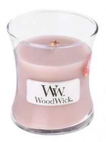 Aromatická svíčka váza, WoodWick Sea Salt Vanilla, hoření až 30 hod