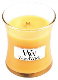 Aromatická svíčka váza, WoodWick Seaside Mimosa, hoření až 30 hod