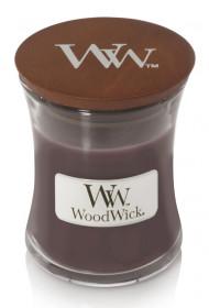 Aromatická svíčka váza, WoodWick Sueded Sandalwood, hoření až 30 hod