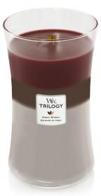 Aromatická svíčka váza, WoodWick Trilogy Forest Retreat, hoření až 120 hod