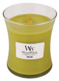Aromatická svíčka váza, WoodWick Willow, hoření až 65 hod