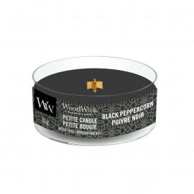 Aromatická svíčka, WoodWick Petite Black Peppercorn, hoření až 8 hod