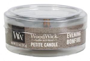Aromatická svíčka, WoodWick Petite Evening Bonfire, hoření až 8 hod