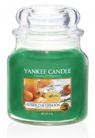 Aromatická svíčka, Yankee Candle Alfresco Afternoon, hoření až 75 hod