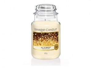 Aromatická svíčka, Yankee Candle All is Bright, hoření až 150 hod