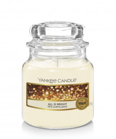 Aromatická svíčka, Yankee Candle All is Bright, hoření až 30 hod