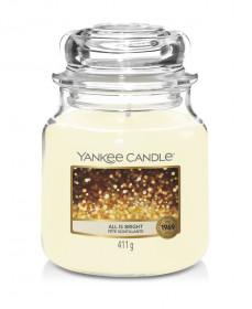 Aromatická svíčka, Yankee Candle All is Bright, hoření až 75 hod