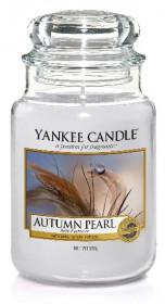 Aromatická svíčka, Yankee Candle Autumn Pearl, hoření až 150 hod