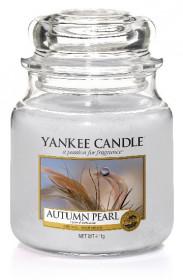 Aromatická svíčka, Yankee Candle Autumn Pearl, hoření až 75 hod