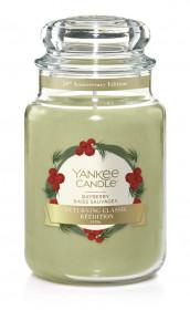 Aromatická svíčka, Yankee Candle Bayberry, hoření až 150 hod