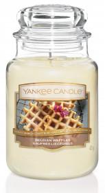 Aromatická svíčka, Yankee Candle Belgian Waffles, hoření až 150 hod