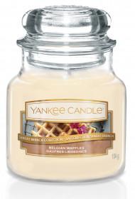 Aromatická svíčka, Yankee Candle Belgian Waffles, hoření až 30 hod
