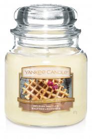 Aromatická svíčka, Yankee Candle Belgian Waffles, hoření až 75 hod