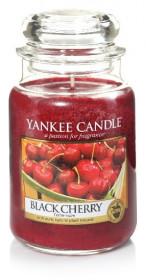 Aromatická svíčka, Yankee Candle Black Cherry, hoření až 150 hod