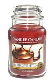 Aromatická svíčka, Yankee Candle Bright Copper Kettles, hoření až 150 hod