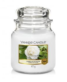 Aromatická svíčka, Yankee Candle Camellia Blossom, hoření až 75 hod