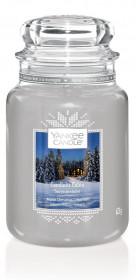 Aromatická svíčka, Yankee Candle Candlelit Cabin, hoření až 150 hod