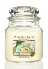 Aromatická svíčka, Yankee Candle Christmas Cookie, hoření až 75 hod