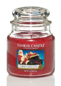 Aromatická svíčka, Yankee Candle Christmas Eve, hoření až 75 hod