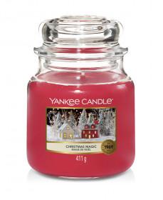 Aromatická svíčka, Yankee Candle Christmas Magic, hoření až 75 hod