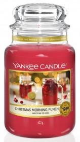 Aromatická svíčka, Yankee Candle Christmas Morning Punch, hoření až 150 hod