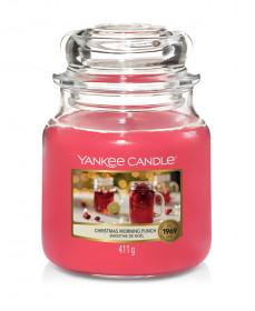Aromatická svíčka, Yankee Candle Christmas Morning Punch, hoření až 75 hod