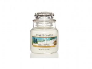Aromatická svíčka, Yankee Candle Clean Cotton, hoření až 30 hod