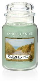 Aromatická svíčka, Yankee Candle Coastal Living, hoření až 150 hod