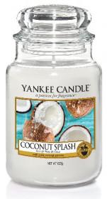Aromatická svíčka, Yankee Candle Coconut Splash, hoření až 150 hod