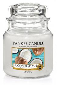 Aromatická svíčka, Yankee Candle Coconut Splash, hoření až 75 hod