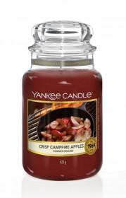 Aromatická svíčka, Yankee Candle Crisp Campfire Apples, hoření až 150 hod
