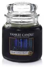 Aromatická svíčka, Yankee Candle Dreamy Summer Nights, hoření až 75 hod