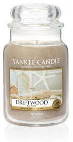 Aromatická svíčka, Yankee Candle Driftwood, hoření až 150 hod