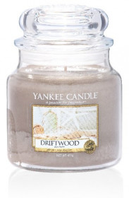 Aromatická svíčka, Yankee Candle Driftwood, hoření až 75 hod