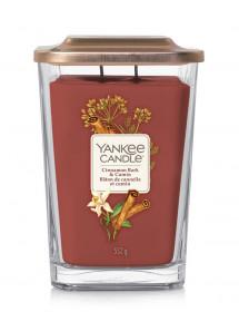 Aromatická svíčka, Yankee Candle Elevation Cinnamon Bark & Cumin, hoření až 80 hod