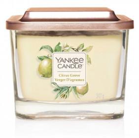 Aromatická svíčka, Yankee Candle Elevation Citrus Grove, hoření až 38 hod