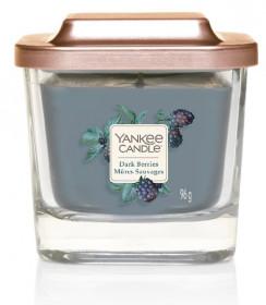 Aromatická svíčka, Yankee Candle Elevation Dark Berries, hoření až 28 hod